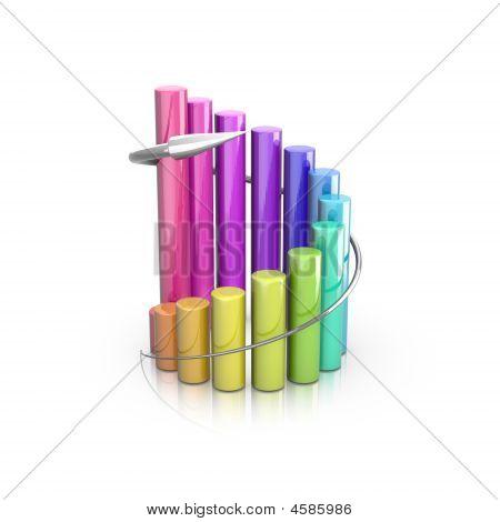 Colorful 3D Graph