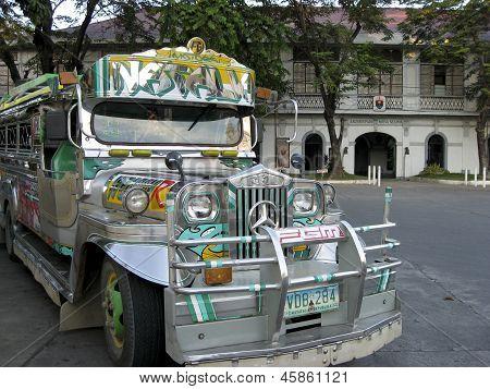 Vigan Jeepney Filipinas