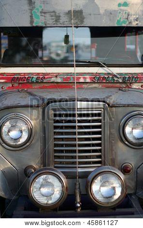 Angeles Sapangbato Jeepney Philippines