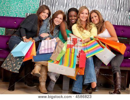 Mulheres de compras