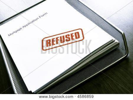 Hypothek abgelehnt