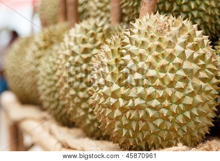 King Of Furit Durian From Thailand