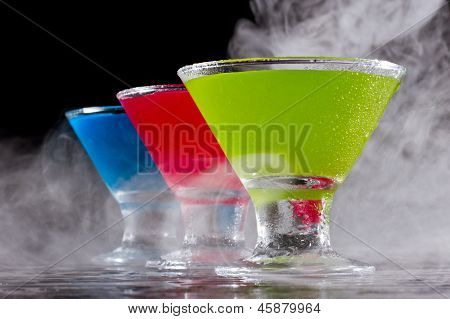 Bright Cocktails