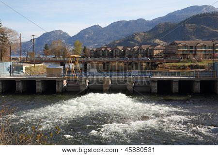 Okanagan Falls, Flood Gate, British Columbia
