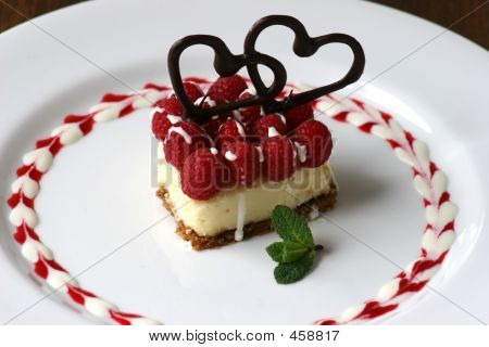 Small Valentines Cheesecake