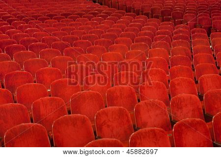 Red Theater Seating