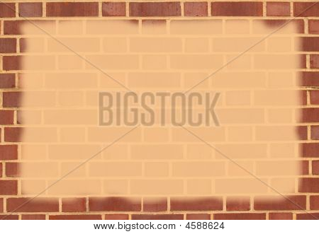 Brick Border With Copy Space