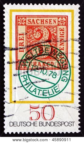 Postage Stamp Germany 1978 Saxony No. 1 Stamp