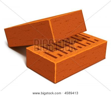 Isolated Bricks For House Construction