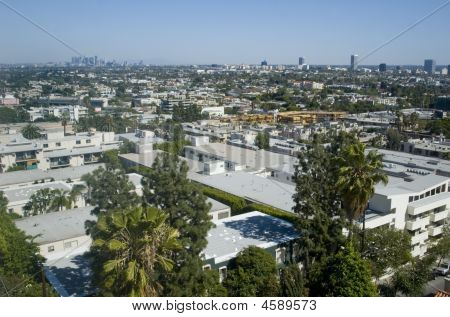 Los Angeles Hollywood Skyline