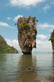picture of james bond island  - James Bond island in province Phang Nga Thailand - JPG