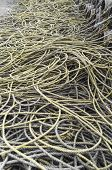 picture of promiscuous  - yellow old promiscuous ropes in daylight outdoor