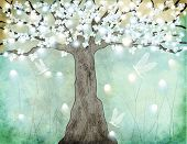 pic of dandelion  - Flowering Tree  - JPG