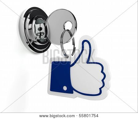 Lock With Like