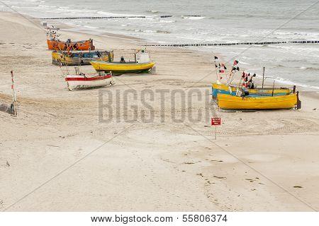 Baltic Coast - Rewal, Poland.