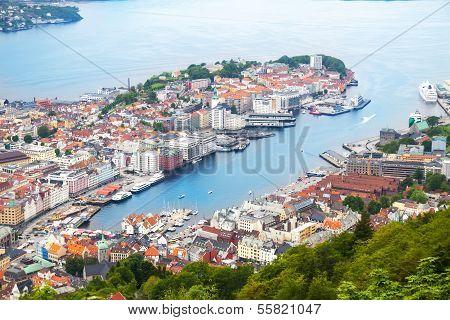 View of Bergen, Norway