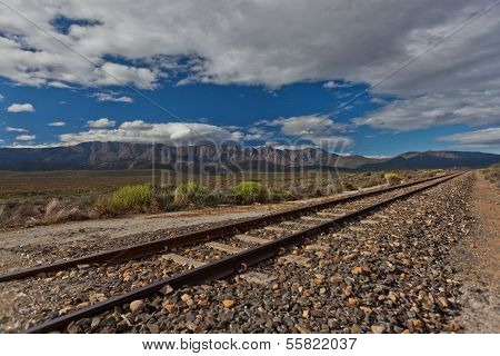 Train Tracks Countryside