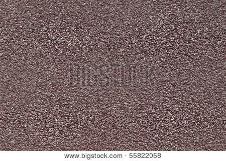 Granular Texture Of An Emery Paper