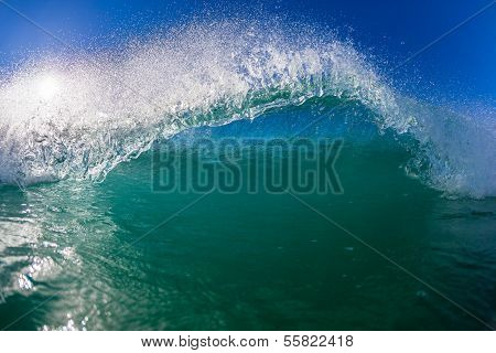 Wave Water Lip Swimming