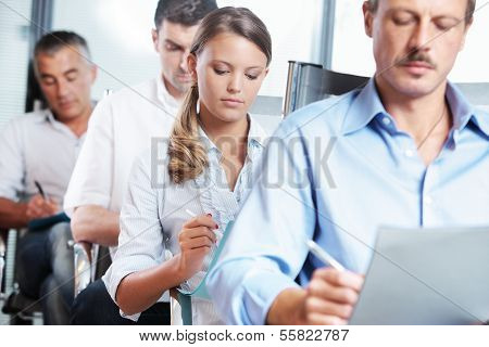 Taking Notes At A Seminar