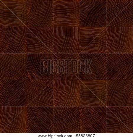 Seamless wooden board closeup texture background.