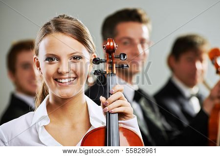 Classical Music, Woman Portrait