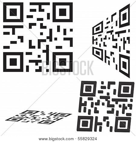 simple Qr Code Icon