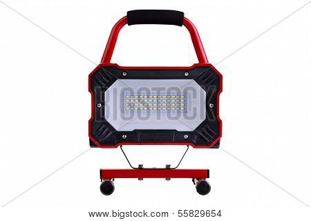 Red Metal Led Work Light