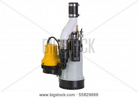 Sump Pump With Emergency Backup Pump
