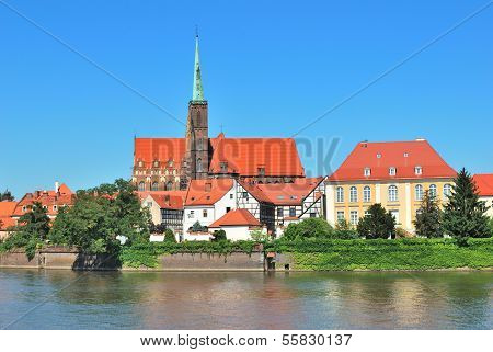 Wroclaw. Beautiful Historic Buildings