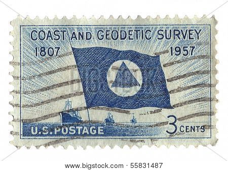 United States Stamp of the Coast and Geodetic Survey