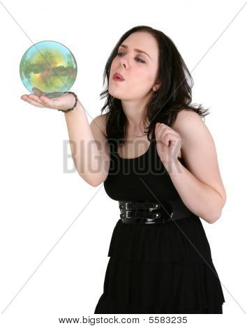 Blowing A Bubble