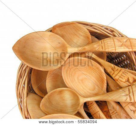 Traditional Ukrainian Wooden Spoons