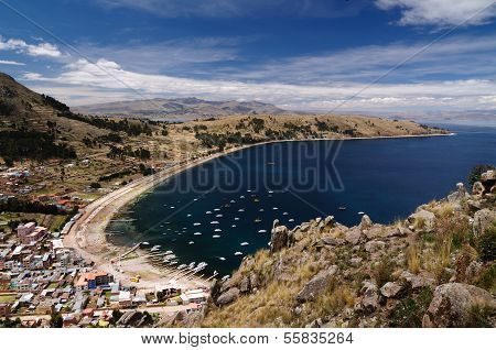 Copacabana City, Titicaca Lake, Bolivia