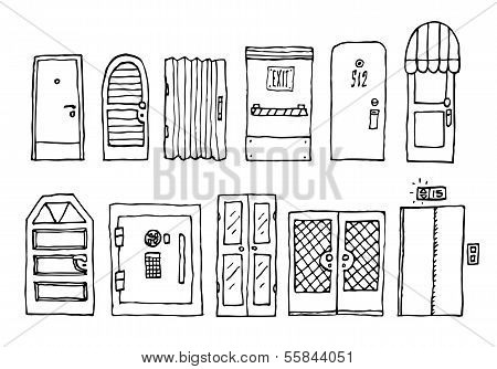 Doors And Entrance Set