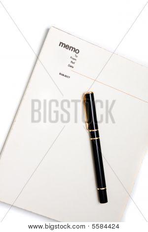 Blank Memo Pad Notebook