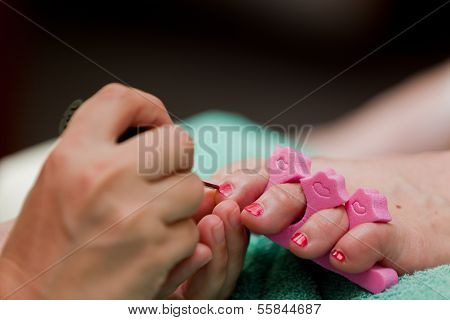 Pedicure Close Up