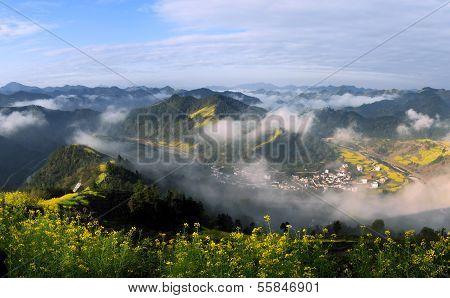 Wuyuan paisaje