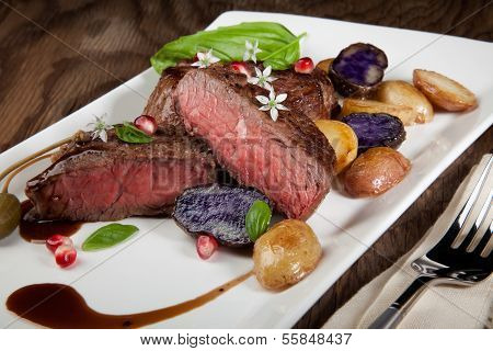 Pan Seared Steak