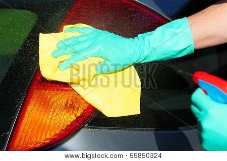 Tail Light Washing