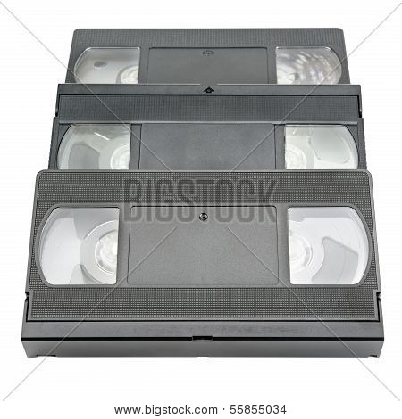 Videotape  Isolated On White
