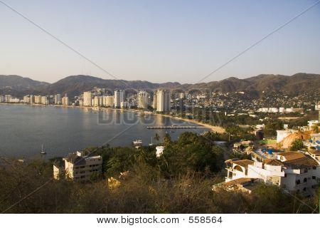 Acapulco ao pôr do sol