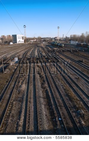 Shunting depot