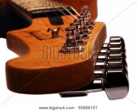 A guitar head