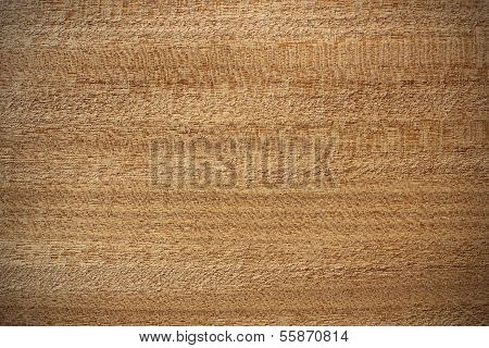 Afrormosia Wood Surface - Horizontal Lines