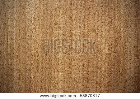 Afrormosia Wood Surface - Vertical Lines