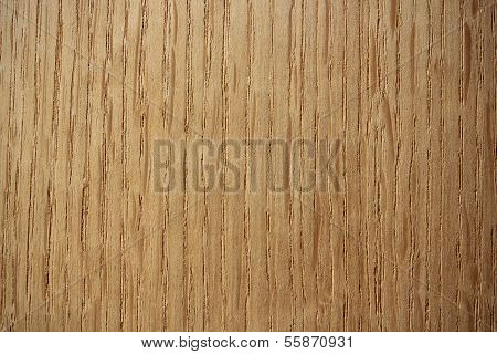 Oak Wood Surface -  Vertical Lines