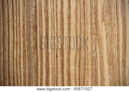 Olive Ash Wood Surface - Vertical Lines