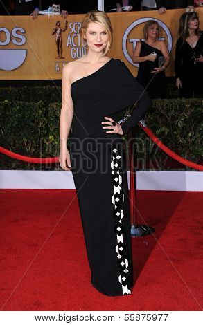 LOS ANGELES - JAN 27:  Claire Danes arrives to the SAG Awards 2013  on January 27, 2013 in Los Angeles, CA