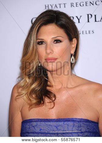 LOS ANGELES - MAY 03:  Daisy Fuentes arrives to the Race To Erase MS 2013  on May 03, 2013 in Century City, CA